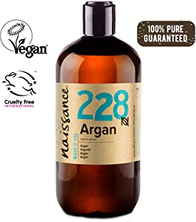 Naissance Moroccan Argan Oil 16 fl oz - Pure & Natural, Vegan, Hexane Free, No GMO - Unscented Natural Moisturizer & Conditioner for Face, Hair, Skin
