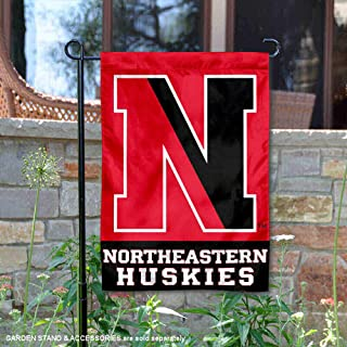 College Flags and Banners Co. Northeastern Huskies Garden Flag