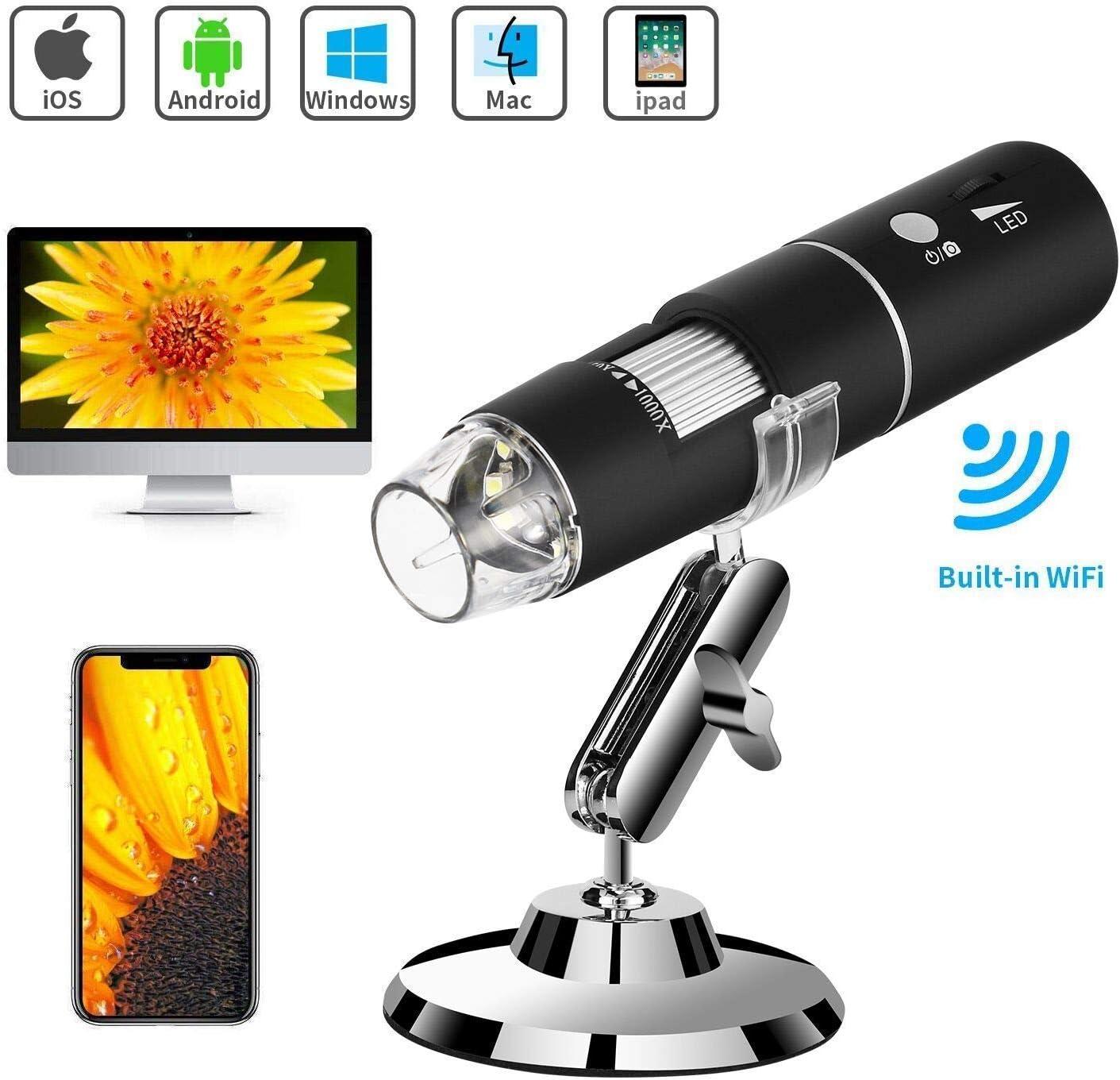 Wireless depot Digital Microscope Amabana Sale item WiFi 1000X with