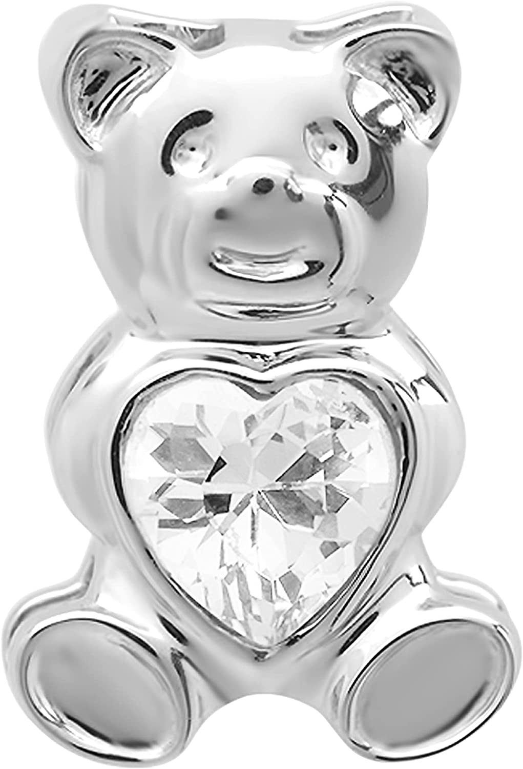 Dazzlingrock Collection Cute Teddy Bear Zirconia Very popular! price Cubic Love with