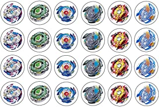 Beyblade ~ Two Dozen ~ Cupcake Topper ~ Edible Frosting Image