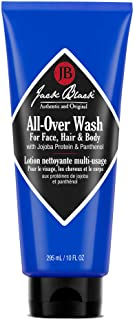 Jack Black All-Over Wash for Hair for Face, Hair & Body
