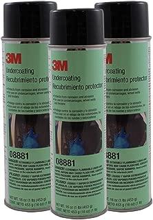 3M Undercoating, 08881, 16 oz Net Wt/453 g (qty 3)