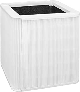 Lhari 211+ Replacement Filter, Compatible with Blueair Blue Pure 211+ Air Purifier, Foldable Particle and Activated Carbon Filter, Pollen, Dust Removal