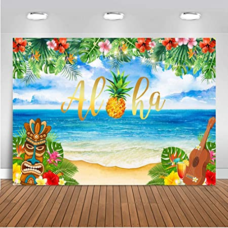 Mehofoto Aloha Party Dekoration Vinyl Für Sommer Kamera