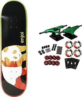 Enjoi Skateboards Rasta Veneer Panda Skateboard Deck 8.375