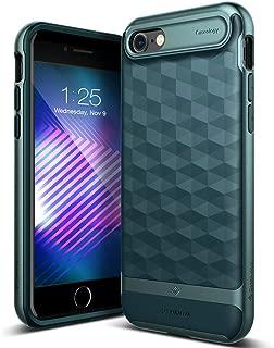 Caseology Parallax for Apple iPhone 8 Case (2017) / for iPhone 7 Case (2016) - Award Winning Design - Aqua Green