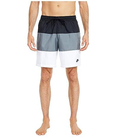 Nike NSW Shorts Woven Novelty (Black/Smoke Grey/White/Black) Men