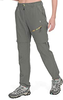 Little Donkey Andy Womens Convertible Hiking Pants Lightweight Zip-Off Pants Quick Dry UPF 50