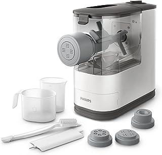 Philips Máquina de hacer pasta y fideos HR2333/12, 150 W, 0.45 kg, De plástico, Blanco