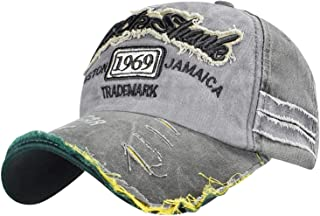 Voqeen Gorra de Béisbol Vintage Bordado 1969 Recuerdo Presente, 50 Cumpleaños Sombrero