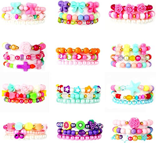 Authentic Bracelet with Butterfly Jibbitz in a Plastic Star