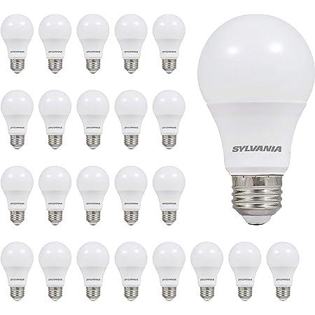 LEDVANCE 74765 A19 Efficient 8.5W Soft White 2700K 60W Equivalent LED Light Bulb (24 Pack), 24 Count