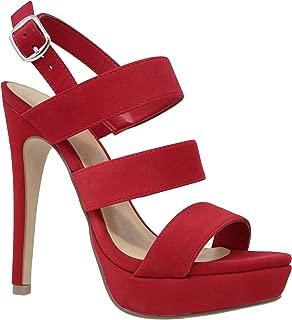 Women's Platform Lace up Heels