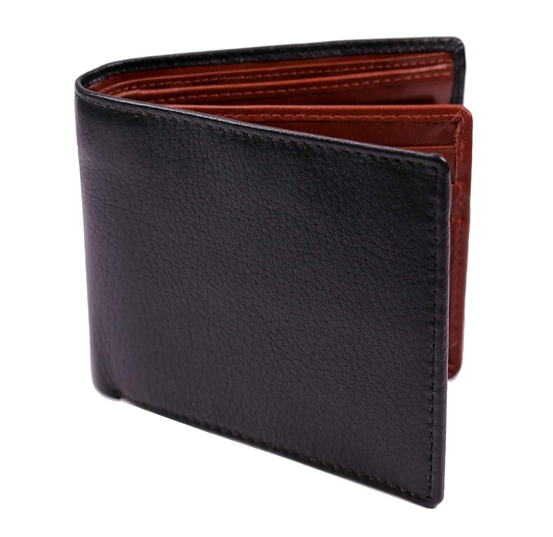 数値爆風ドライプラスエイチ(Plus H) 財布 二つ折り財布 メンズ 革 小銭入れ付き PH7990