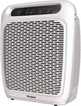 Whirlpool Whispure Air Purifier - WP1000 (Upgrade Ver. of WP500) 490 sq ft TRUE HEPA Filter 8171510K 1183054K, 4-Speed Plus Turbo, Removes Pollen, Pet Dander, Smoke, Odors (WP1000P-Pearl White).