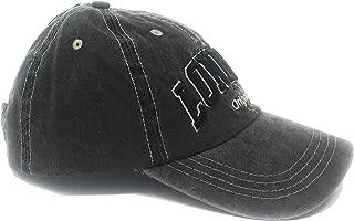 Grey Denim London Baseball Cap