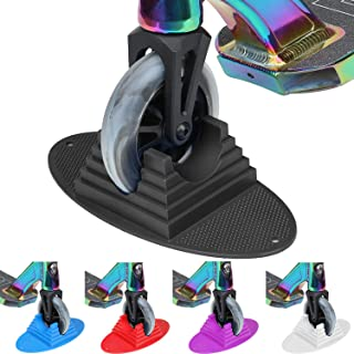 VOKUL Scooter Stand Parking   Universal Pro Kick Scooter Holder Stand fit Most Scooters for 95mm -125mm Scooter Wheels - Multiple Scooters, Stable Base,Organize Scooters, Works Perfect