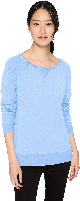 Amazon Brand - Daily Ritual Women's Oversized Terry Cotton and Modal High-Low Sweatshirt