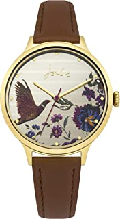 Joules Women's Analogue Quartz Watch with Leather Strap JSL002TG