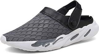 Eagsouni Unisex Mesh Sandals Garden Clog Shoes Breathable Summer Beach Slippers Lightweight Walking Beach Sports Sandals