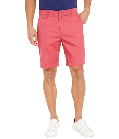 Johnnie-O Neal Stretch Twill Shorts (Malibu Red) Men