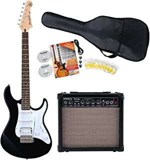 Yamaha Pacifica 012 BL Black elektrische gitaarstarterset