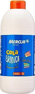 Cola Escolar, Mercur B01011102006, Multicor, 1 kg, Pacote de 4