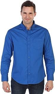 Gioberti Mens Long Sleeve Casual Twill Shirt