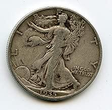 1935 S Walking Liberty Half Dollar F-15