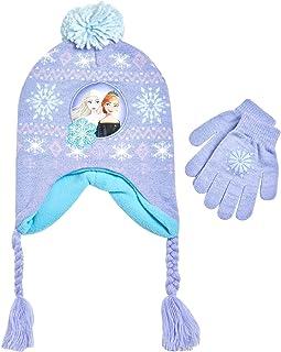 مجموعه آب و هوای سرد و دستکش های السا و آنا بینی و دختران کوچک دیزنی (سن 2-7 سال)