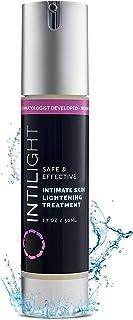 Intilight Skin Lightening Cream - Hydroquinone Whitening and Bleaching Dark Spot Corrector Serum for Face, Underarm, and Sensitive Areas