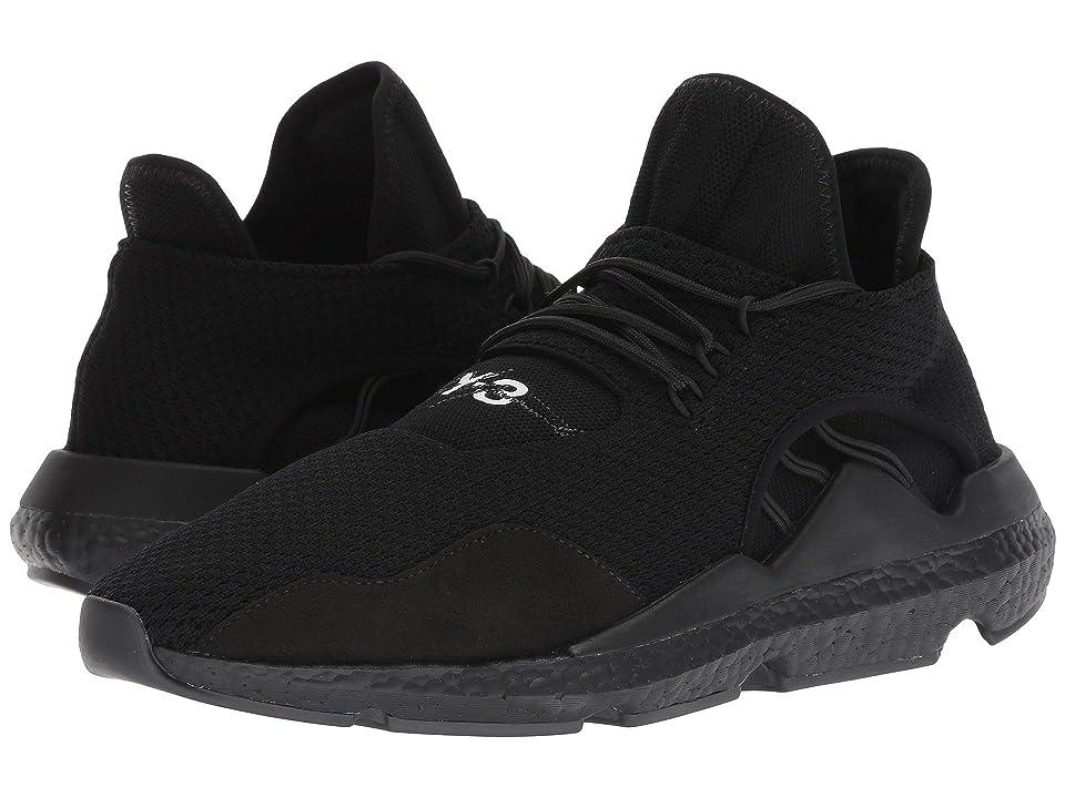 adidas Y-3 by Yohji Yamamoto Saikou (Black Y-3/Black Y-3/Black Y-3) Shoes