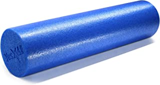 Yes4All Premium High Density PE Foam Roller: 12, 18, 24 & 36 inch (Multi Color)
