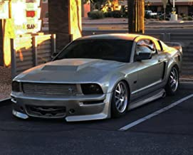 KBD Body Kits Compatible with Ford Mustang 2005-2009 Eleanor Style 1 Piece Flexfit Polyurethane Front Bumper. Extremely Durable, Easy Installation, Guaranteed Fitment, Made in the USA!