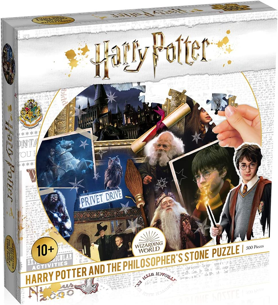 Harry Potter Puzzles Philosopher's Stone 500 Piece Jigsaw Puzzle (WM00370-ML1-6)