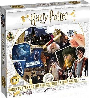 Winning Moves Puzzle Harry Potter ET LA Pierre PHILOSOPHALE-500 Pieces, WM00370-ML1-6