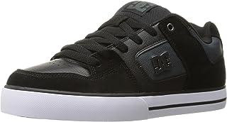 DC Men's Pure SE Skateboarding Shoe, Black, 7.5 D US