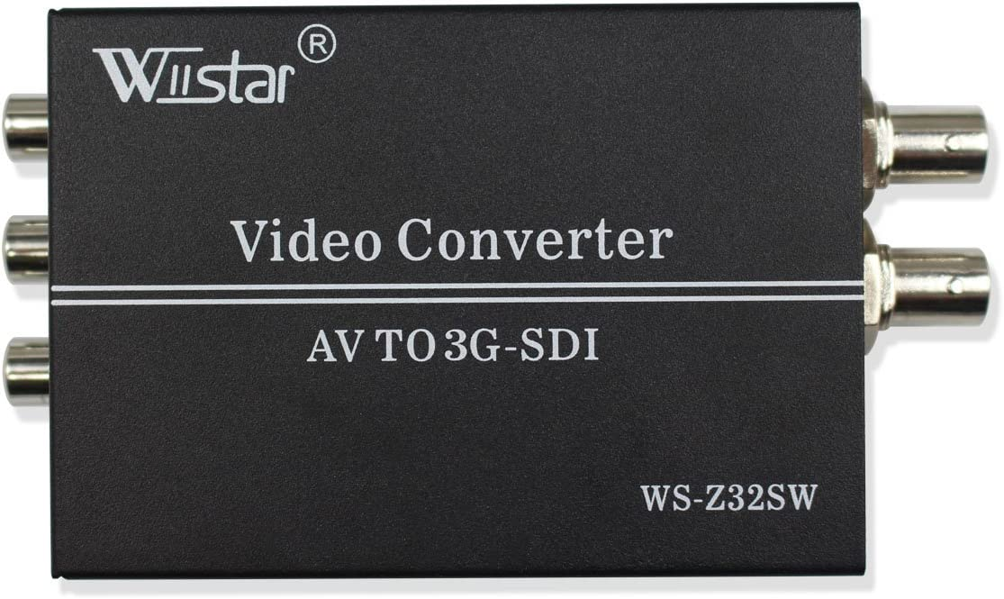 Wiistar AV CVBS to 5% OFF 3G-SDI Audio favorite Video 1080P fo Support Converter