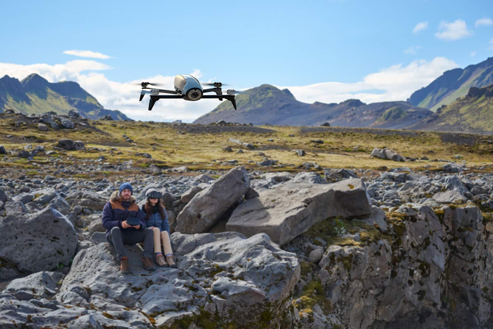 Parrot BEBOP 2 FPV - Dron cuadricóptero (Full HD 1080P, 14 Mpx, 60 ...