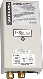 Eemax Electric Tankless Water Heater, Thermostatic Point Of Use - 8.3kw 208v 40a
