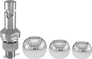 Curt Manufacturing 42225 1-7/8, 2 and 2-5/16-Inch Chrome Steel Switch Ball Set Up to 8,000 lbs. GTW