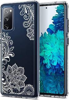 CYRILL Cecile Designed for Samsung Galaxy S20 Fan Edition Case (2020) - White Mandala