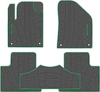 Best green car floor mats Reviews