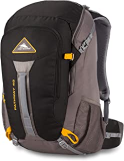 High Sierra Pathway Internal Frame Hiking Backpack 40L - Internal Frame Backpack with Hydration Port - Compatible with 3-Liter Hydration Reservoir - for Hiking, Camping, or Trekking Adventure