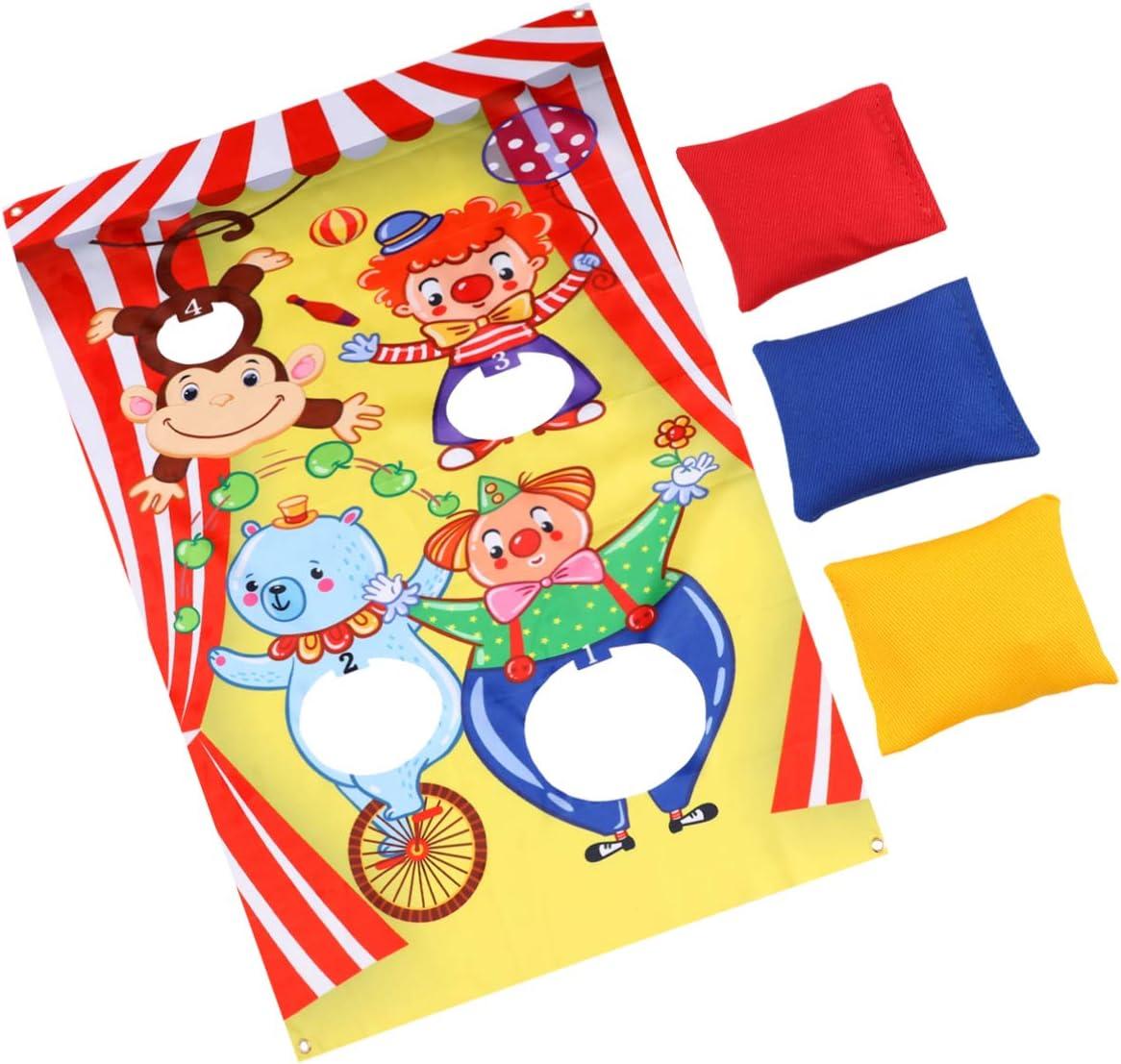 NUOBESTY Bean Bag Toss Game Sandbag trend rank Toy Kids Cornhole Board Purchase