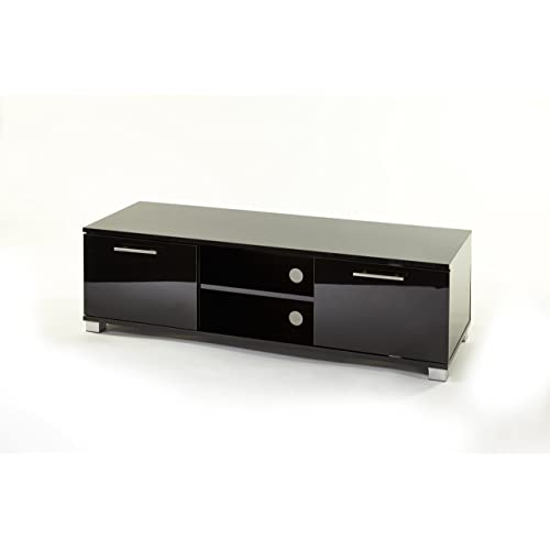 MMT Black High Gloss Universal TV Stand Cabinet - for  Amazon.co.uk   Electronics 9f0b4b33d0