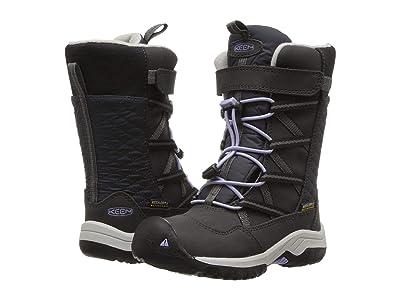Keen Kids Hoodoo WP (Toddler/Little Kid) (Black/Sweet Lavender) Girls Shoes