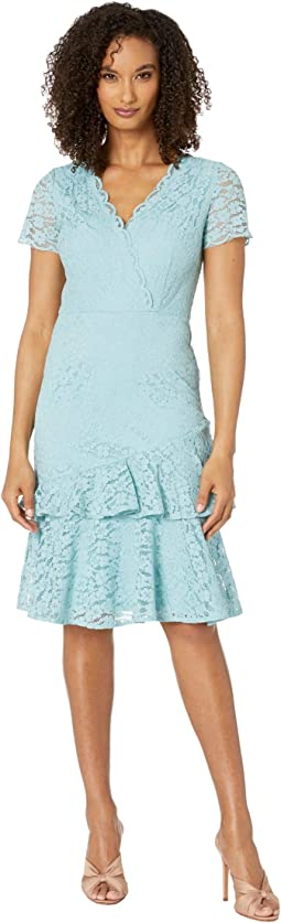 Felicity Lace Flounce Dress