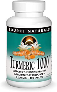 Source Naturals Turmeric 1000, Supports The Body's Healthy Inflammatory Response
